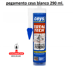 Pegamento CEYS MS-TECH Blanco Piscinas Cartucho 290ML