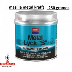 MASILLA KRAFFT METAL-LYCKS 250 GS.