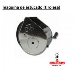 MAQUINA DE ESTUCADO METALICA (TIROLESA)