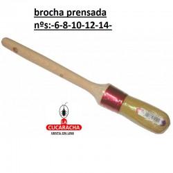BROCHA PRENSADA 5 NUMEROS