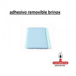 ADHESIVO REMOVIBLE BRINOX AZUL BL.1UN***