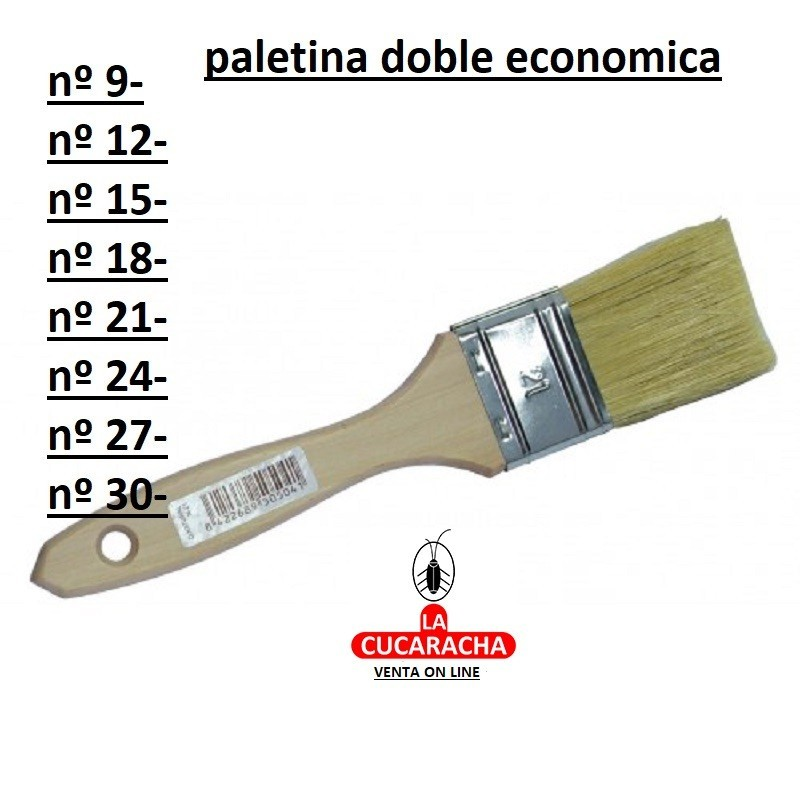 BROCHA PALETINA DOBLE