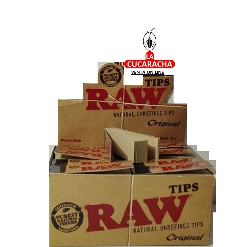 PAPEL FUMAR LIAR RAW CARTON TIPS***
