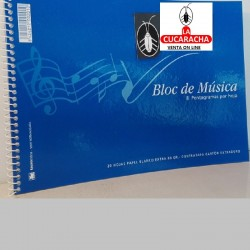 BLOC ESPIRAL MUSICA 4º 20H 80GS TAURO***