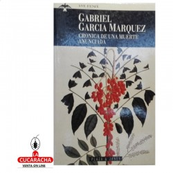 LIBRO CRONICA DE UNA MUERTE ANUNCIADA-PLAZA&JANES-G.MARQUEZ