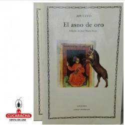 LIBRO EL ASNO DE ORO-CATEDRA 43-L.APULEYO