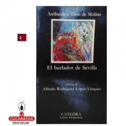 LIBRO EL BURLADOR DE SEVILLA-CATEDRA-TIRSO DE MOLINA