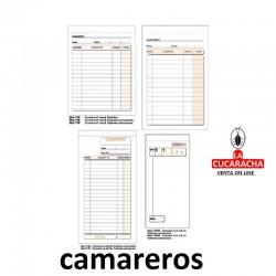 TALONARIOS DE CAMAREROS