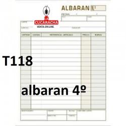 TALONARIOS DE ALBARANES. VARIOS MODELOS