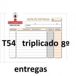 TALONARIOS NOTA DE ENTREGAS. VARIOS MODELOS