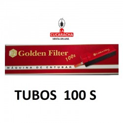 MAQUINA DE ENTUBAR 100S GOLDEN FILTER
