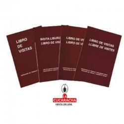 Libro Registro Visitas 100H. Ingraf