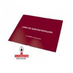 Libro Contabilidad Dohe Fº Subcontratación 10011 Apaisado
