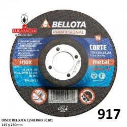 DISCO BELLOTA C/HIERRO 50301