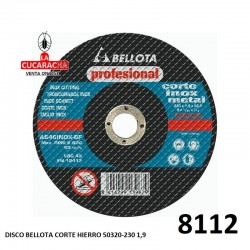 DISCO BELLOTA CORTE HIERRO 50320-230 1,9