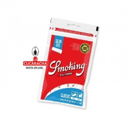 Filtros Smoking 6mm Bolsa 180.- Unidadx30